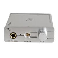 Trasam DT3 High Performance Hifi Independent External USB (96KHz/24Bit) Sound Card Earphone Amplifier Digital Audio Decoder 150mW White
