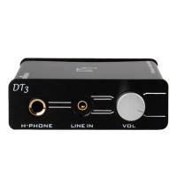 Trasam DT3 High Performance Hifi Independent External USB (96KHz/24Bit) Sound Card Earphone Amplifier Digital Audio Decoder 150mW Black