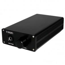 TPA6120A NE5534 AC 220V ADC HIFI Stereo Headphone Amplifier Earphone Amp