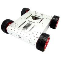 AS-4WD DIY Aluminum Alloy Mobile Robotic Platform Atarduino UNO R3 32 Servo Controller Robot