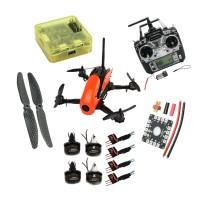 Robocat 270mm 3K Carbon Fiber 4 Axis Mini Quadcopter with CC3D MT2204 2300V Motor 12A ESC for FPV