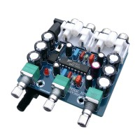 XR1075 BBE HIFI Pitch Board Amp Preamp Automobile for Car TDA7850 Amplifier