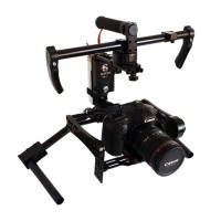 SteadyMaker Tank Plus 3-Axis 32 Bit CNC Handheld Brushless Camera Steady Gimbal Stabilizer Wireless Control for 5D 6D 7D 60D D800 D810 D7000 A7S A99 A58 DSLR