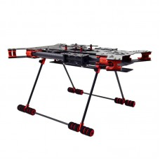 EXUAV H4 680mm Ful Carbon Fiber Folding Quadcopter Frame Combo w/ Carbon Landing Gear