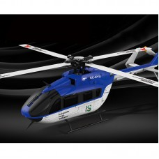 WLtoys XK K124 6CH Brushless EC145 3D6G System RC 4 Blades Helicopter RTF Aircraft