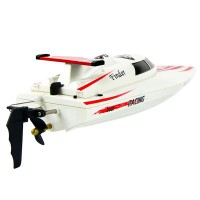 New High Speed Wireless Remote Control Racing Simulation Boat RC Electric Boats Waterproof Toys WL911 White