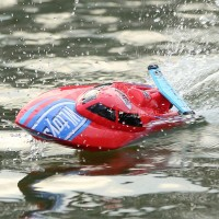 New High Speed Wireless Remote Control Simulation Racing Boat RC Electric Boats Waterproof Toys WL911 Red