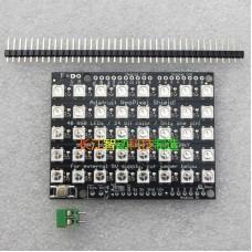 CJMCU- 40-Bit 5x8 Bit WS2812B 5050 RGB LED Pixel Built-in Full Color Driver Light Development Board