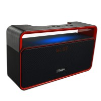 A8 Mini Bass HiFi LED Stereo Sound Bluetooth Speaker Outdoor Weirless Portable Audio with FM Radio for Car PC Phone