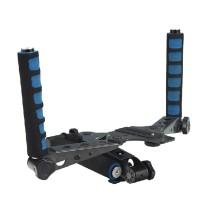 Pro DSLR Shoulder Mount Handled Stabilizer Support Rig with Camera Camcorder Mount Slider