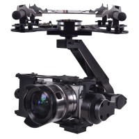X-CAM A22-3H 3 Axis HD Gimbal PTZ with HDMI Converter for SONY NEX5 NEX7 A5000 A6000 BMPCC