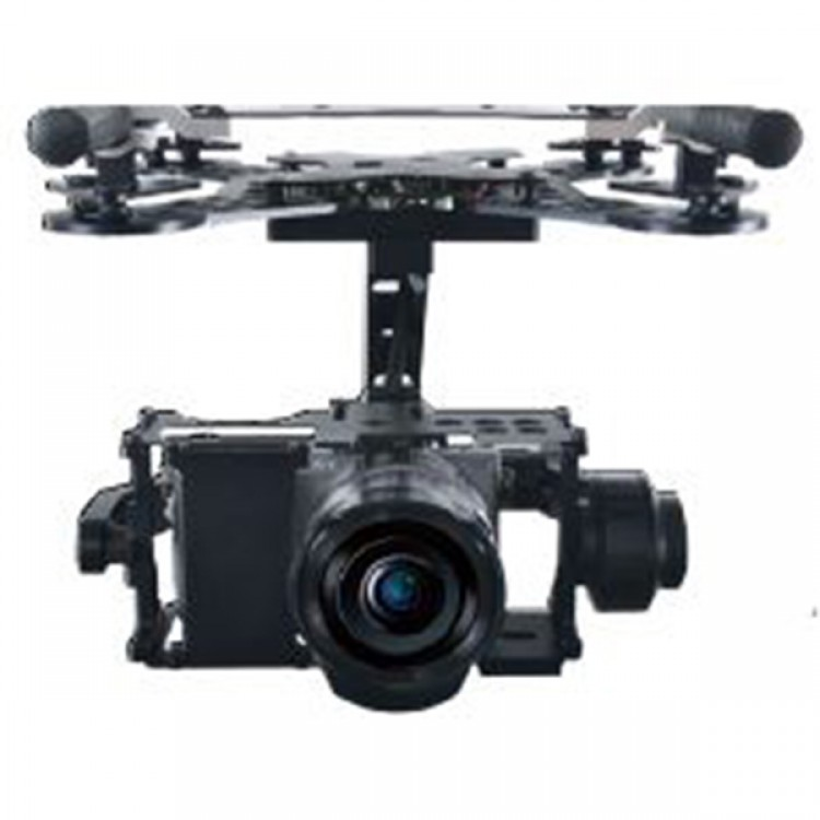 X-CAM A22-2H 2 Axis Stabilization Gimbal PTZ Gimbal System for SONY
