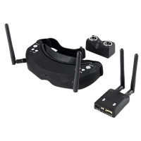 Skyzone SKY02 V2 AIO 3D FPV Goggles Built-in 3D 32CH 5.8G Diversity Receiver Head Tracking and Camera