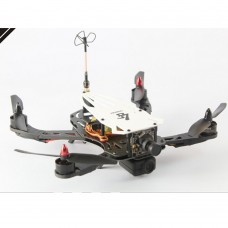 Cicada LS-250 FPV Glass Fiber Frame Four-Axis Frame Rack Quadcopter Frame for Flight Control White