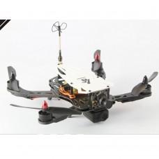 Cicada LS-250 FPV Glass Fiber Frame Four-Axis Frame Rack Quadcopter Frame for Flight Control Black