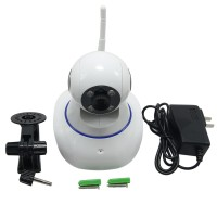 IP Camera Wireless Surveillance Security WiFi CCTV Dual Audio CMOS Two Way Audio Motion Detection Mobile Remote Viewing