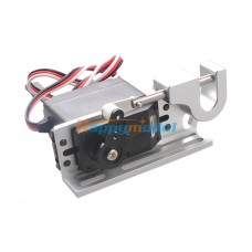 Multicopter Servo Actuator High Torque High Precision Wire Stringing Parabolic Mechanical Switch Silver