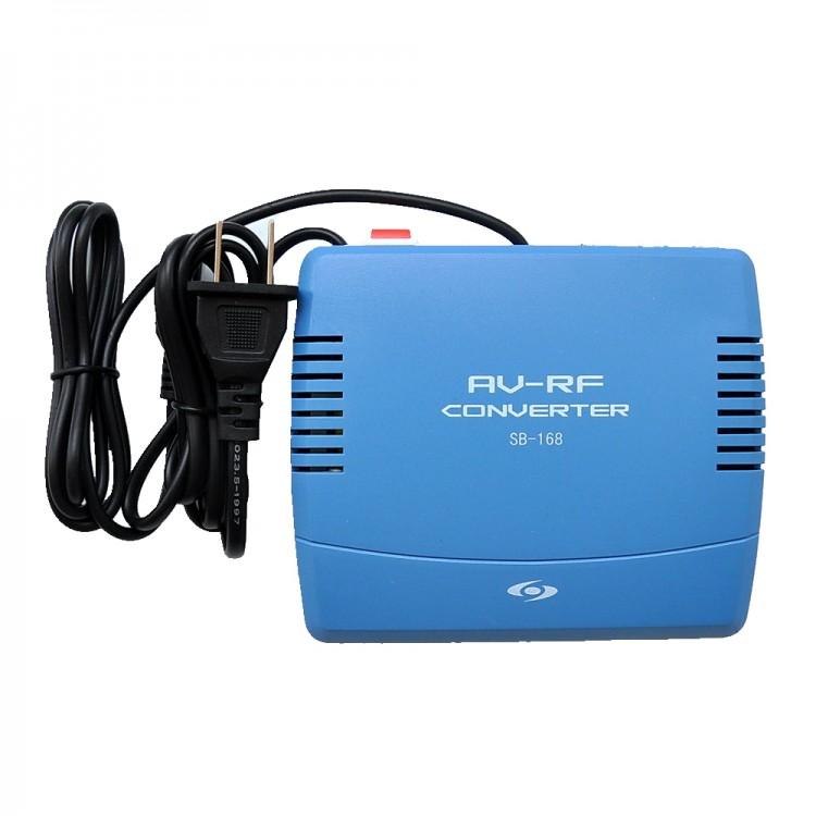 SB 168 AV RF Converter 6 12CH Switch Modulator Set Top Box 2 Pack