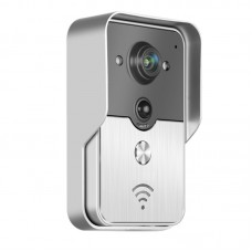 Smart WIFI Video Doorphone Color Video Door Phone Support iOS Android App Wilress Video Doorbell Camera Intercom System