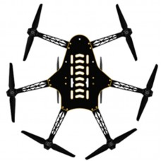 T-drones Smart HA Hexcopter Air Gear 200 for FPV DIY Flight Controll without Cover