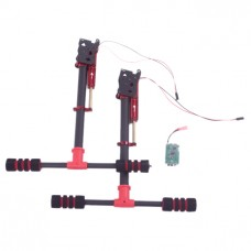 FPV Landing Gear Carbon Fiber Electronic Retractable Aerial Tripod for Quadcopter Hexacopter Multicopter