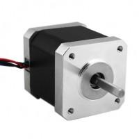 2 Phase 42mm DC24V Small Power Hybrid Stepper Motor 1.8 Degree Length 48mm for CNC