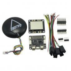 SP Pro Racing F3 Delux Flight Controller with Ublox NEO-7N GPS & 2-6S Distribution Board for Quadcopter Multicopter