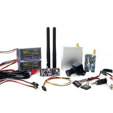 3DR Video OSD FPV Transmitter Receiver System Camera Audio Video AV FPV Kit for Flight Control Multicopter