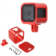 Multifunctional Aluminium Alloy Protective Metal Housing Case Shell for Gopro Hero4 Session