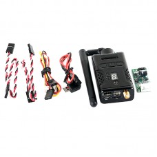 5.8G 32CH 400MW HD 1.80P FPV Weirless Transmitter DV and Camera for Multicopter