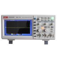 UNI-T 50MHz 500Ms/s Digital Storage Oscilloscopes DSO Dual Channels 7 inch LCD Scopemeter w/Probe UTD2052CL