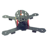 Bee180 3K Carbon Fiber 4-Axis Quadcopter FPV Multicopter Frame for CC3D Acro Afro Naze