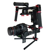 SteadyMaker Tank Plus 3-Axis 32 Bit Handheld Brushless Camera Steady Gimbal Stabilizer V2 with Wireless Control for 5D DSLR