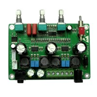 TPA3123 Class D 2.1 Digital Power Amplifier Board 3 Channel Heavy Bass HIFI Support MP3 Module