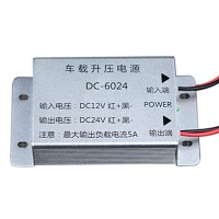 DC-DC12V to 24V 5A 120W Aluminum Case Boost Power Module Booster Power Converter for Car