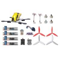 Tarot Robocat 250FPV Carbon Fiber Quadcopter Kit TL250C 1806 Motor EMAX NANO 12A ESC MINI CC3D