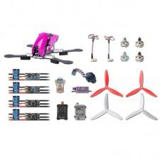 Tarot Robocat 280 FPV Carbon Fiber Quadcopter Kit TL250C 1806 Motor EMAX NANO 12A ESC MINI CC3D