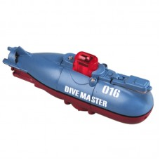 Mini 6CH IR Remote Control RC Submarine Ballast Function Dive Master-016