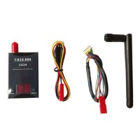 TX58-800 800mW 32CH Transmitter 5.8GHz Wireless AV Transmitter Sender for RC Hobby