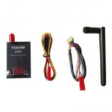 TX58-800 800mW 32CH Transmitter 5.8GHz Wireless AV Transmitter Sender for RC Hobby