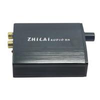 ZHILAI H8 Computer USB External Sound Card DAC Decoder Amp HIFI Desktop Audio Sound Card Black