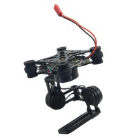 3-Axis Brushless Gimbal Camera Mount with 32bit Storm32 Controller for Gopro 3 4 FPV Black