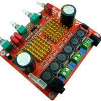 Class D 2.1 Amplifier Board High Power Digital  3 Channel Heavy Bass HIFI Amplifier for DIY Audio