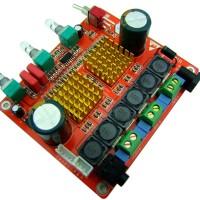 Class D 2.1 Amplifier Board High Power Digital  3 Channel Heavy Bass HIFI Amplifier for DIY Audio