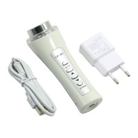 1Mhz Rechargeable Ultrasonic Facial Massager Face Cleaner Body Slimming Ultrasound Therapy Equipment Clean Spots Spa Beauty Skin Care