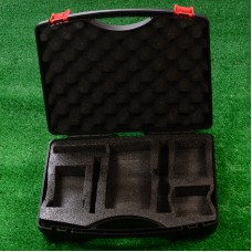 Plastic Cold Connect Tool Kit FTTH Fiber Metal Tool Box Network Tool Box Empty Container