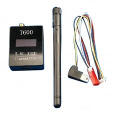 NEW 5.8G FPV T600 600mW 32CH Audio/Video AV Transmitter Module for Receiver Multicopter