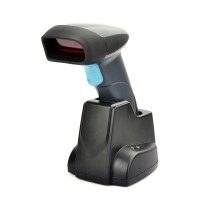H018 Wireless Laser Handheld Barcode Scanner with Charging Base Storage Holder