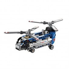 Blocks Bricks Lego Educational Models Building Classic Toys 42020 Technic Series Twin-Rotor Helicopter
