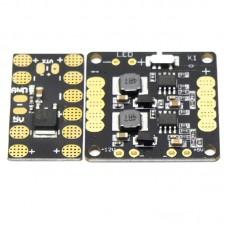 Mini Distribution Panel 5V 50A BEC Hub with LED for Multicopter Flight Control Quadcopter 2-Pack